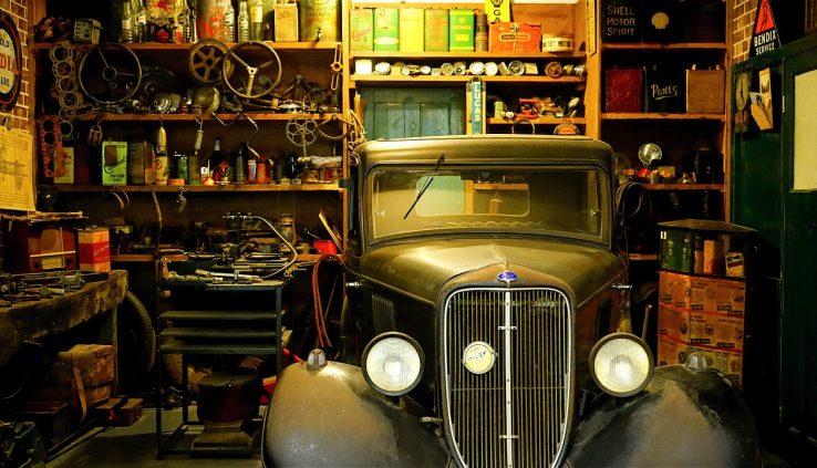 How does garage fans work?